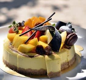 日式轻乳酪蛋糕 Japanese Cheesecake