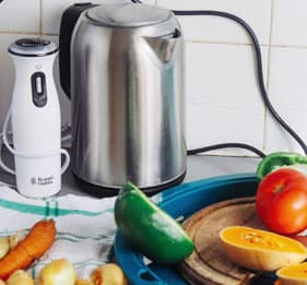 电热水壶防烫自动断电1.6L