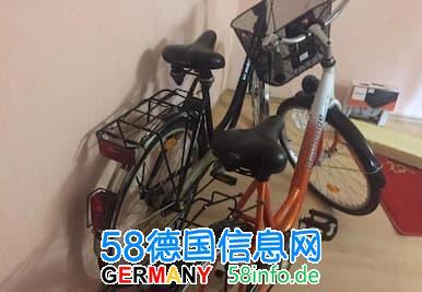 九成新自行车,男式女式个一辆,半卖半送