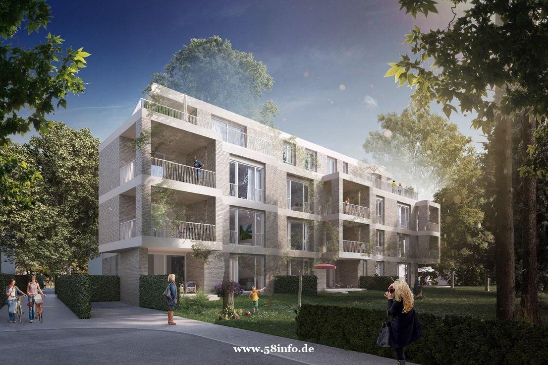 汉堡Außenalster附近,刚完工公寓新房,带全新厨房,